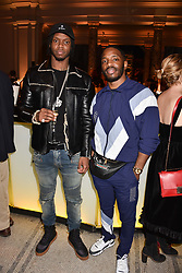 Krept & Konan at Fashioned From Nature held at The V&A Museum, London, England. 18 April 2018.