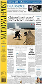 October 13, 2021 - CANADA: Front-page: Today's Newspapers In Canada