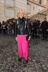 Rome, Piazza Del Campidoglio Event Gucci Parade at the Capitoline Museums, In the picture: Marina Cicogna