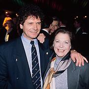 Nieuwjaarsreceptie Strengholt 1997, Hans van Hemert en tvkok Ria van Eijndhoven