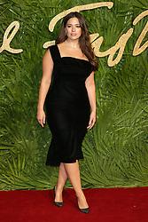 at The Fashion Awards 2017 at the Royal Albert Hall in London, UK. 04 Dec 2017 Pictured: Ashley Graham. Photo credit: MEGA TheMegaAgency.com +1 888 505 6342
