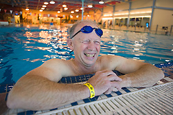 Swimmer at the Whitehorse Aquatic Centre swimming pool