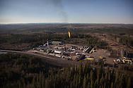 Photo Randy Vanderveen<br /> south of Grande Prairie, Alberta<br /> 2014-05-07<br /> Essential Energy Coil Well Services aerial photos at a site south of Grande Prairie.