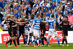 20-04-2014 NED: KNVB Bekerfinale PEC Zwolle - AFC Ajax, Rotterdam<br /> Opstootje tussen Zwolle en Ajax spelers