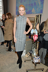 JULIE MONTAGU (Viscountess Hinchingbrooke)  at a preview of Bionda Castana's new seasons shoes hosted by Alex Meyers and Bionda Castana and held at The Arts Club, 40 Dover Street, London on 4th March 2015.