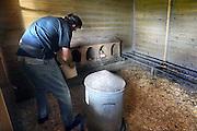 Nederland, Beuningen (Overijssel), 24-9-2009Zorgboerderij Sleiderink.Foto: Flip Franssen