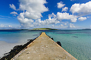 Isle Of Barra, Jetty, Scotland