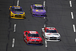 May 26, 2018 - Concord, North Carolina, United States of America - Ty Majeski (60) and Kaz Grala (61) battle for position during the Alsco 300 at Charlotte Motor Speedway in Concord, North Carolina. (Credit Image: © Chris Owens Asp Inc/ASP via ZUMA Wire)