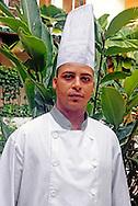 Cook at Hotel Ciego de Avila, Cuba.