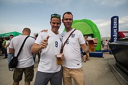 English fans before the EURO 2016 Qualifier Group E match between Slovenia and England at SRC Stozice on June 14, 2015 in Ljubljana, Slovenia. Photo by Grega Valancic