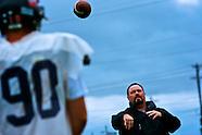 A football-coach and his quarter-back son