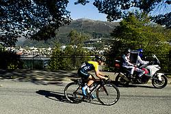 September 23, 2017 - Bergen, NORWAY - 170923 Sara Marie Penton of Sweden competes during the Women Elite Road Race on September 23, 2017 in Bergen..Photo: Vegard Wivestad GrÂ¿tt / BILDBYRN / kod VG / 170026 (Credit Image: © Vegard Wivestad Gr¯Tt/Bildbyran via ZUMA Wire)
