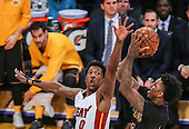 Basketball: 20170106 Los Ageles Lakers vs Miami Heat