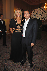 ELISABETH MURDOCH daughter of Rupert Murdoch and her husband MATTHEW FREUD at the Ark 2007 charity gala at Marlborough House, Pall Mall, London SW1 on 11th May 2007.<br /><br />NON EXCLUSIVE - WORLD RIGHTS