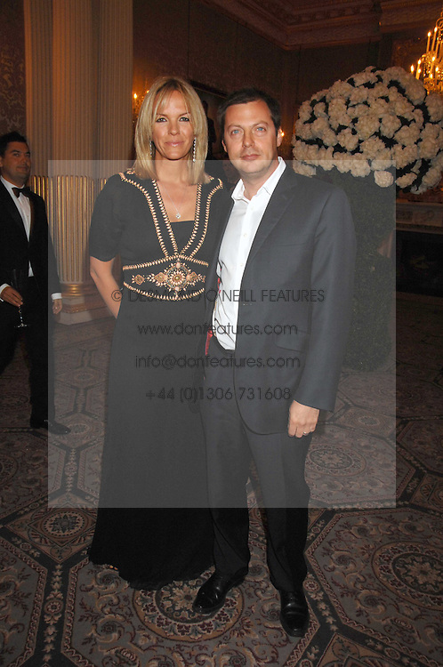 ELISABETH MURDOCH daughter of Rupert Murdoch and her husband MATTHEW FREUD at the Ark 2007 charity gala at Marlborough House, Pall Mall, London SW1 on 11th May 2007.<br />
