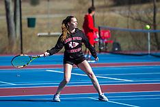 03/26/18 HS Tennis Bridgeport vs. Fairmont Senior