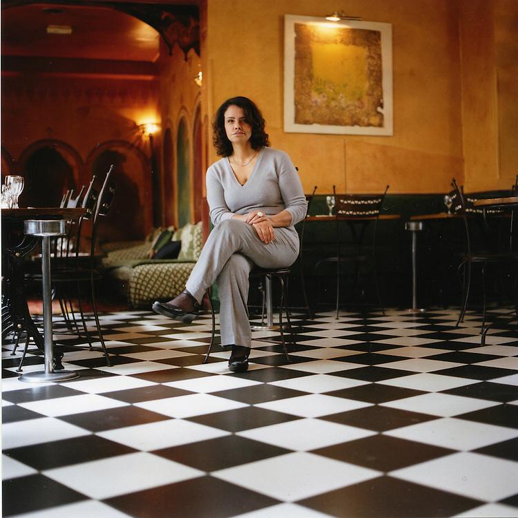 Fatéma Hal - writer, restaurant owner