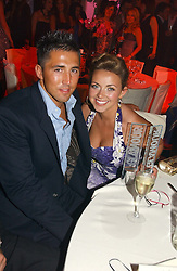 CHARLOTTE CHURCH and GAVIN HENSON at the 2006 Glamour Women of the Year Awards 2006 held in Berkeley Square Gardens, London W1 on 6th June 2006.<br /><br />NON EXCLUSIVE - WORLD RIGHTS