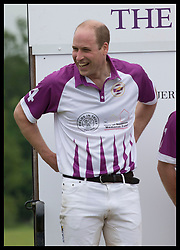 May 25, 2018 - Cirencester, United Kingdom - Image licensed to i-Images Picture Agency. 25/05/2018. Cirencester , United Kingdom. The Duke of Cambridge  after taking part in the  Jerudong Trophy charity polo match at Cirencester Park Polo Club, Gloucestershire, United Kingdom. (Credit Image: © Stephen Lock/i-Images via ZUMA Press)