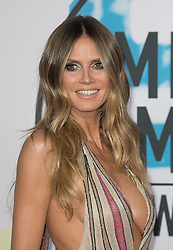 November 19, 2017 - Los Angeles, California, U.S - Heidi Klum on the Red Carpet of the 2017 American Music Awards held on Sunday, November 19, 2017 at the Microsoft Theatre in Los Angeles, California. (Credit Image: © Prensa Internacional via ZUMA Wire)