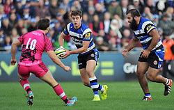 Ollie Devoto of Bath Rugby - Photo mandatory by-line: Patrick Khachfe/JMP - Mobile: 07966 386802 01/11/2014 - SPORT - RUGBY UNION - Bath - The Recreation Ground - Bath Rugby v London Welsh - LV= Cup