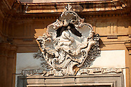 Baroque sculptures, architectural decoration, Palermo Sicily .<br /> <br /> Visit our SICILY HISTORIC PLACES PHOTO COLLECTIONS for more   photos  to download or buy as prints https://funkystock.photoshelter.com/gallery-collection/2b-Pictures-Images-of-Sicily-Photos-of-Sicilian-Historic-Landmark-Sites/C0000qAkj8TXCzro