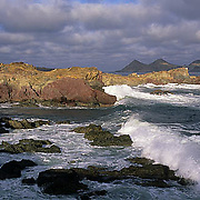 Mexico, San Benito Island seascape.