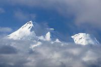Mount Shasta, stratovolcano in the Cascade Range. Elevation 14,179 ft (4,322 m)