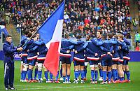 Equipe de France - 15.03.2015 - Rugby - Italie / France - Tournoi des VI Nations -Rome<br /> Photo : David Winter / Icon Sport