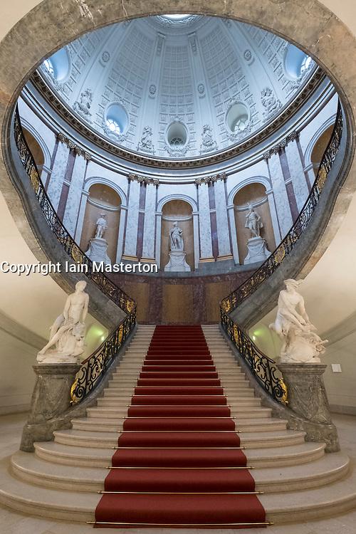 Stairway at Bode Museum on Museumsinsel, Berlin, Germany