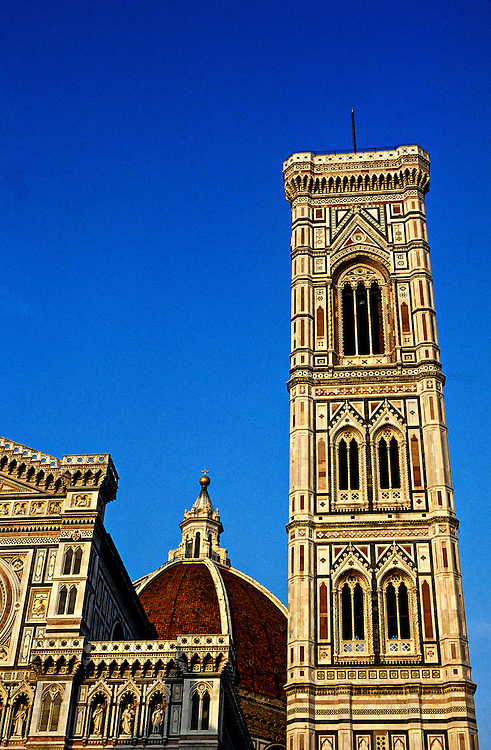Duomo and Campanile, Florence, Tuscany, Italy