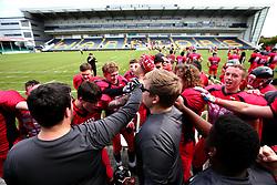 Match action from the BAFA Britbowl National League Finals 2017 - Mandatory by-line: Robbie Stephenson/JMP - 26/08/2017 - AMERICAN FOOTBALL - Sixways Stadium - Worcester, England - East Kilbride Pirates v London Blitz - BAFA Britbowl National League Finals 2017