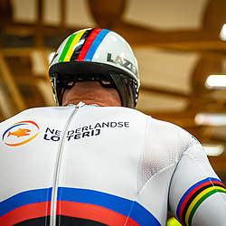 GRENCHEN  (SWI) EUROPEAN TRACK CHAMPIONSHIPS, October 5th<br /> Teamsprint men Roy van den Berg