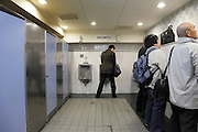 one of the many public toilets at train station Tokyo Japan
