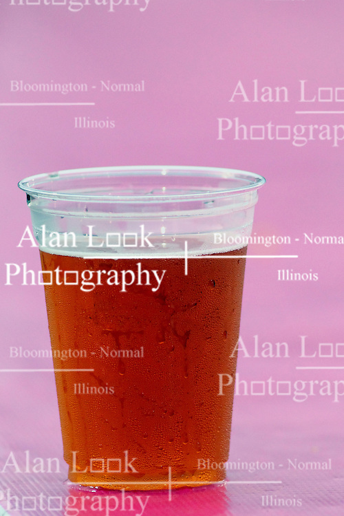 06 July 2013:  Beer left unattended in a clear solo cup during a baseball game