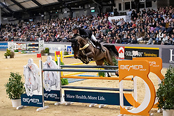 GREVE Willem (NED), Zypria S<br /> Neumünster - VR Classics 2019<br /> Int. Weltranglistenspringen mit Siegerrunde CSI3*<br /> Championat von Neumünster<br /> Preis der BEMER Int. AG<br /> 16. Februar 2019<br /> © www.sportfotos-lafrentz.de/Stefan Lafrentz