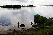 For the indigenous communities, the river is a way of life, and something their whole existence stems from - washing, fishing, cooking, transport, without the Xingu all of these would be impossible. A third of Altamira in the state of Para, Brazil will be flooded to make way for the Belo Monte dam, nearly all the people affected are the poorest in society or indigenous communities that will have nowhere to go if they were made homeless, and the Government payoff for their properties is low therefore making it difficult to find new accomodation. At present, the Arara land is protected from development, sale or new residents as it has been their ancestral land for hundreds of years, this is now one of the key areas under threat