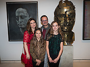SHEBA RONAY; JONATHAN YEO AND CHILDREN, From Life, Royal Academy, Piccadilly, London. 7 December 2017