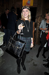 TATIANA MERCER at a party to celebrate the opening of Barts, Sloane Ave, London on 26th February 2009.