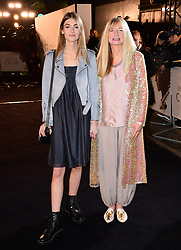 Eve Delf (left) attending The White Crow UK Premiere held at the Curzon Mayfair, London.