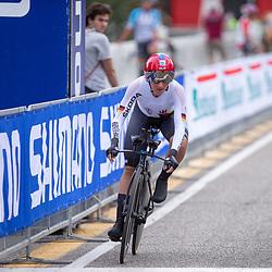 24-09-2020: wielrennen: WK tijdrit vrouwen: Imola<br /> Lisa Brennauer