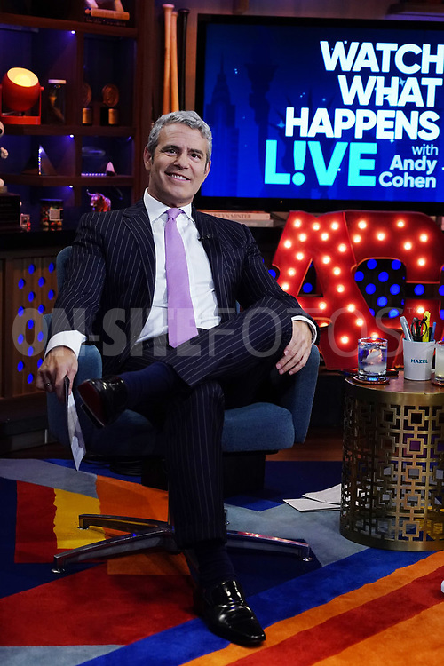 WATCH WHAT HAPPENS LIVE WITH ANDY COHEN -- Episode 18162 -- Pictured: Andy Cohen -- (Photo by: Charles Sykes/Bravo)