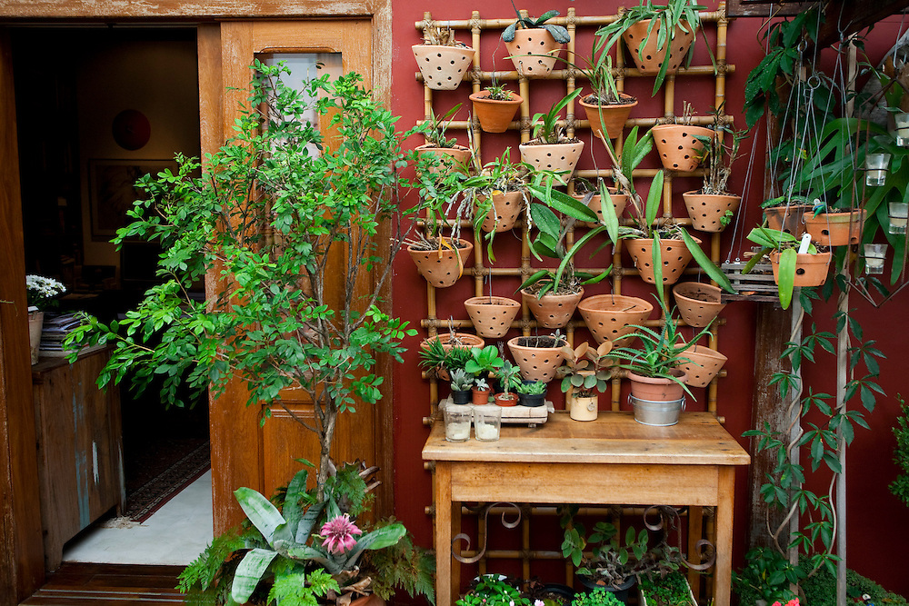 Belo Horizonte_MG, Brasil...Jardim em um apartamento em Belo Horizonte, Minas Gerais...A garden in a flart in Belo Horizonte, Minas Gerais...Foto: JOAO MARCOS ROSA / NITRO