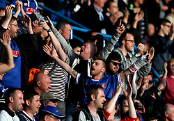 Carlisle United fans - Mandatory by-line: Robbie Stephenson/JMP - 14/05/2017 - FOOTBALL - Brunton Park - Carlisle, England - Carlisle United v Exeter City - Sky Bet League Two Play-off Semi-Final 1st Leg