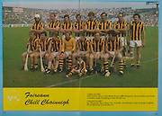 All Ireland Senior Hurling Championship - Final,.04.09.1983, 09.04.1983, 4th September 1983,.Kilkenny v Cork, .Kilkenny 2-14, Cork 2-12,.04091983AISHCF,..Kilkenny, Back row, Dick O'Hara, Brian Cody, Richie Power, Billy Fitzpatrick, Christy, Heffernan, Frank Cummins, Paddy Prendergast, John Henderson, Front row,  Joe Hennnessy, Harry Ryan, Ger Fennelly, Noel Skehan, Liam Fennelly captain, Kieran Brennan, Ger Henderson,