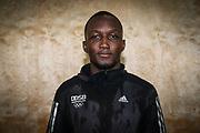 Boxen: AIBA World Boxing Championship, Nationalmannschaft Deutschland, Pressetraining, Hamburg, 23.08.2017<br /> Abass Baraou<br /> © Torsten Helmke