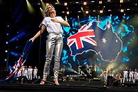 Delta Goodrem at Fire Fight Australia at the  ANZ Stadium Sydney Australa 16 Feb 2020 Photo BY Rhiannon Hopley