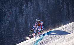 22.01.2019, Streif, Kitzbühel, AUT, FIS Weltcup Ski Alpin, Abfahrt, Herren, 1. Training, im Bild Maxence Muzaton (FRA) // Maxence Muzaton of France during the 1st Training of mens downhill of FIS Ski Alpine Worldcup at the Streif in Kitzbühel, Austria on 2019/01/22. EXPA Pictures © 2019, PhotoCredit: EXPA/ Johann Groder
