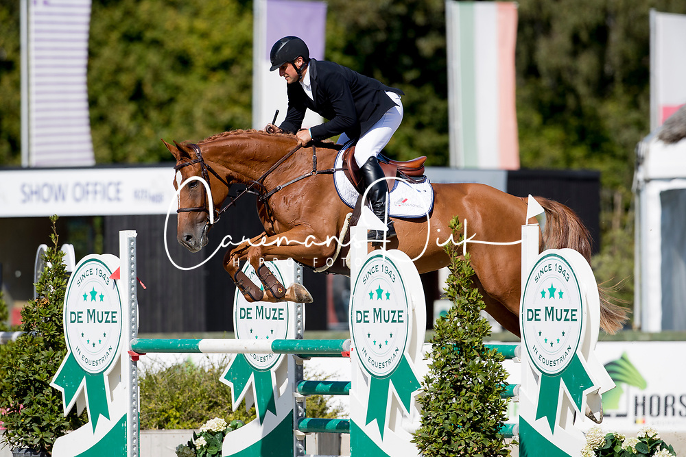 Thirion Laurent, BEL, Valse Du Maillet Z<br /> BK Young Horses 2020<br /> © Hippo Foto - Sharon Vandeput<br /> 6/09/20