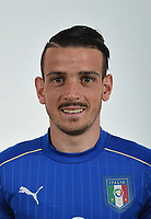 FLORENCE, ITALY - JUNE 01:  Alessandro Florenzi of Italy poses for a photo ahead of the UEFA Euro 2016 at Coverciano on June 1, 2016 in Florence, Italy.  Foto Claudio Villa/FIGC Press Office/Insidefoto